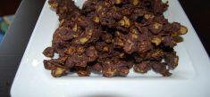חטיפי קורנפלקס ושוקולד מריר 70%
