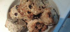 עוגיות מקמח כוסמין, שמן קוקוס וחמוציות